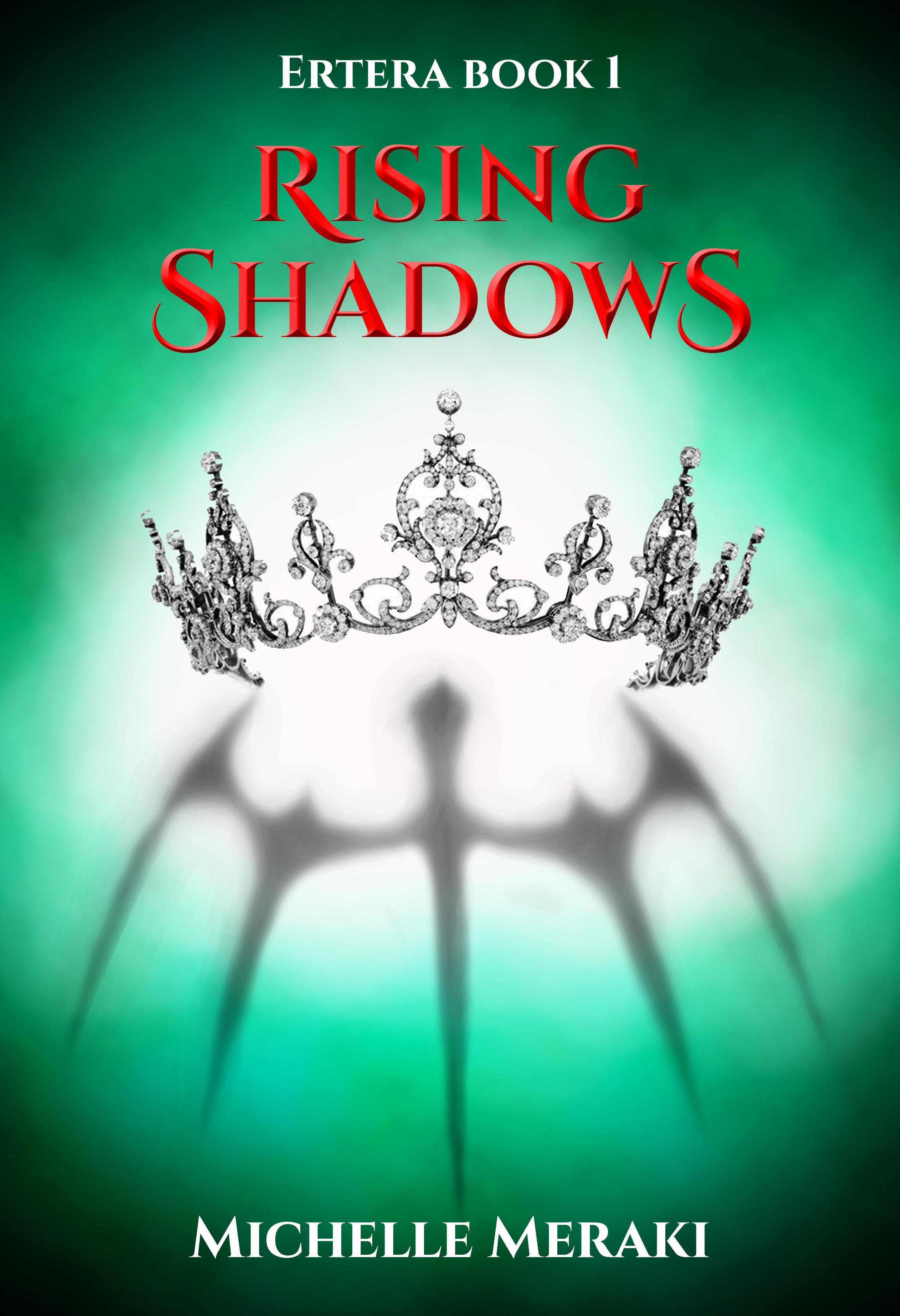 Ertera Book 1 Rising Shadows Cover