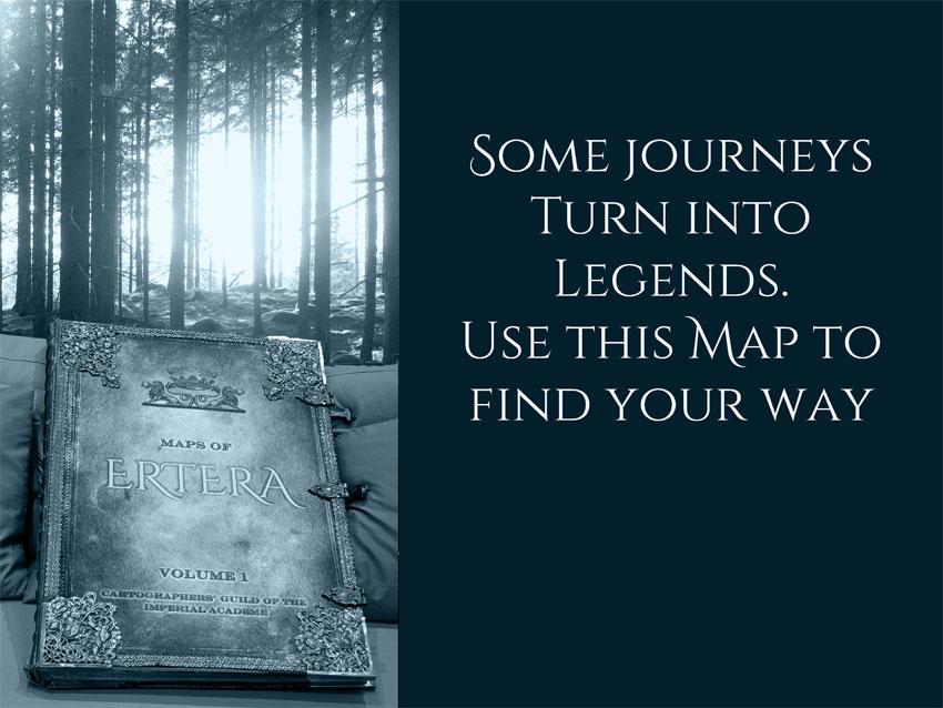 Ertera Maps for Adventurous Readers